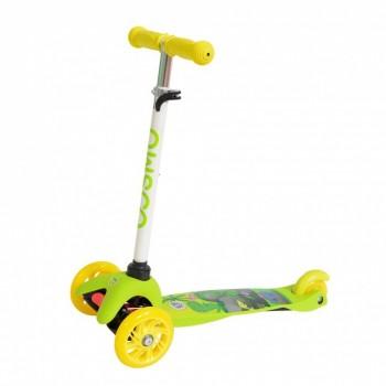 Детский нескладной трехколесный самокат COSMO Willy
