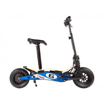 Электросамокат VELOCIFERO Mini-mad 800W Li-on Blue