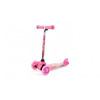 Детский трехколесный самокат для девочек Winx