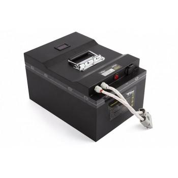 Литиевый тяговый аккумулятор RuTrike (18650 MnCoNi) 24V100A/H