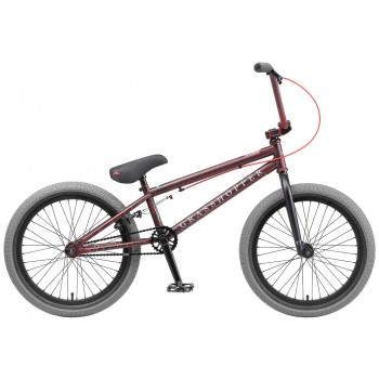 Велосипед BMX TT GRASSHOPPER черно-красный
