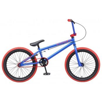 """Велосипед Tech Team BMX Mack 20"""" Сине-красный"""