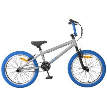 Велосипед 20 BMX Tech Team GOOF сине-серый