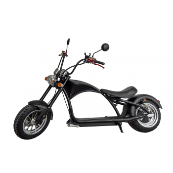 Электроскутер Citycoco Harley Chopper 2000W, 60В 20Ah Черный