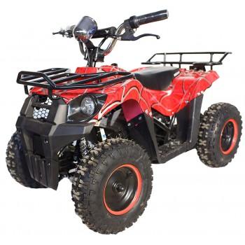 Квадроцикл GreenCamel Gobi K400 (36V 800W R6 Цепной привод) Красный паук