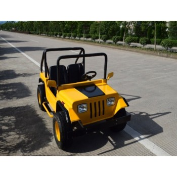 Электромобиль GreenCamel Jeep (60V 1500W R8 Дифференциал, 2 gear) Желтый
