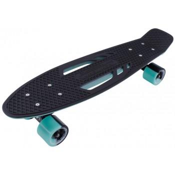 Скейтборд пластиковый Shark 22 sea blue/black