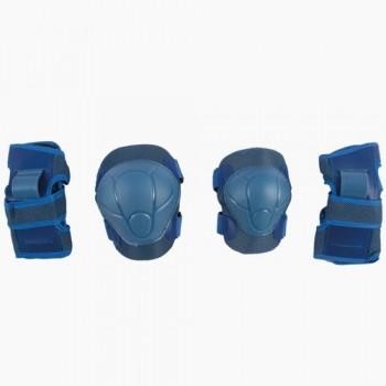 Набор защиты Tech Team Safety line 100, цвет синий (размеры S, M, L)