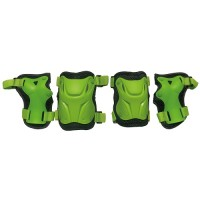 Набор защиты Tech Team Safety line 800, цвет зеленый (размеры S, M, L)