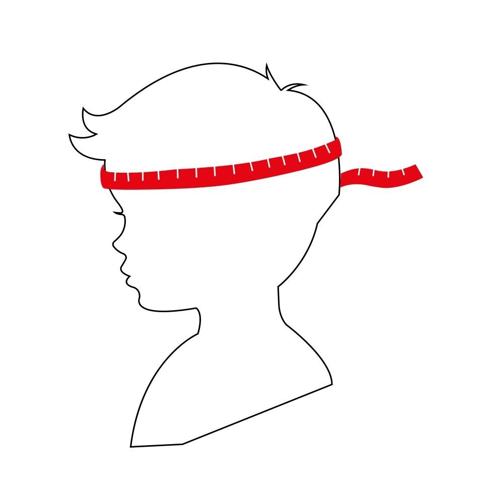 Как отмерить размер шлема